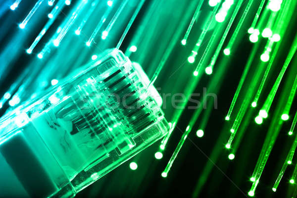волокно оптика свет Места интернет технологий Сток-фото © arcoss