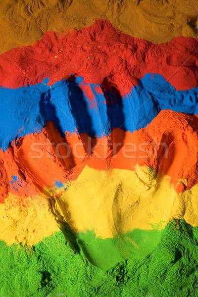Kolor tekstury strony streszczenie ciało księżyc Zdjęcia stock © arcoss