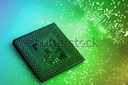 Rost optikai fény foltok absztrakt űr Stock fotó © arcoss