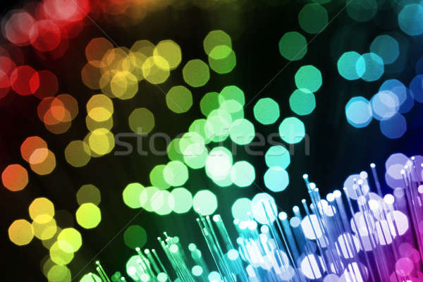 Fiber optics Stock photo © arcoss