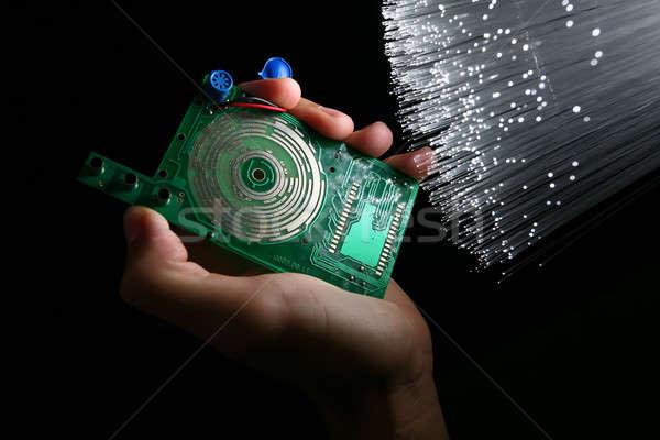 Technológia test terv művészet tudomány robot Stock fotó © arcoss
