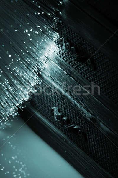 Vezel optische vezel optica licht Stockfoto © arcoss