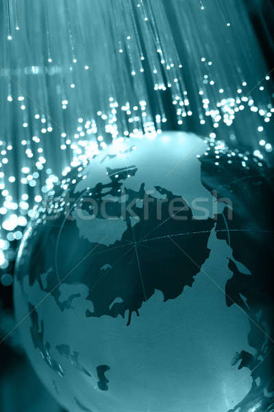 Rost optika fény foltok absztrakt terv Stock fotó © arcoss