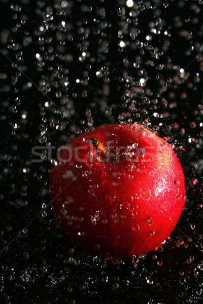 Pomme résumé fitness santé boire vague Photo stock © arcoss