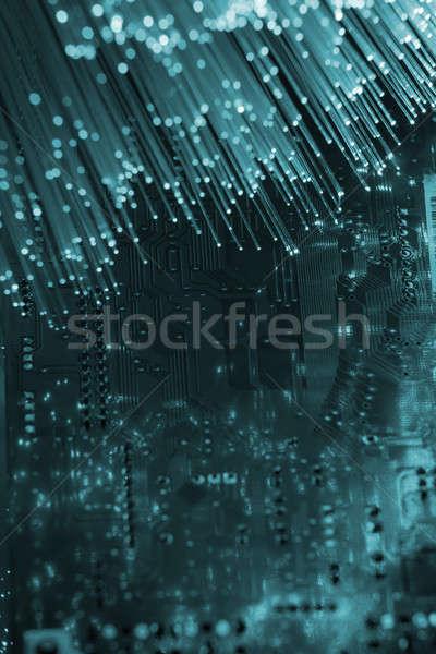 fiber optical Stock photo © arcoss