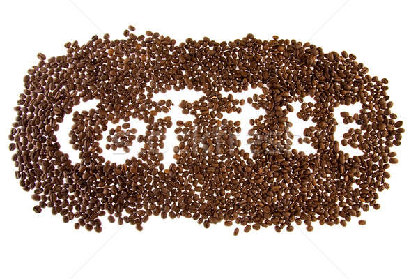Coffee mosaic  Stock photo © arcoss