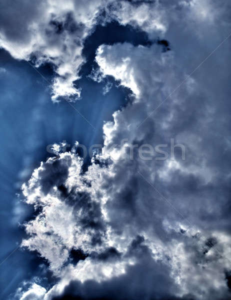 clouds Stock photo © arcoss