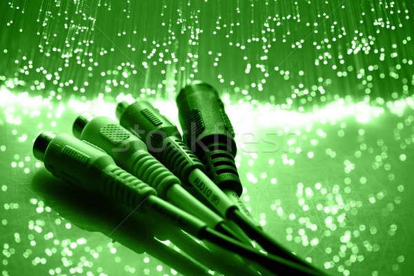 высокий Tech технологий цвета контроля синий Сток-фото © arcoss