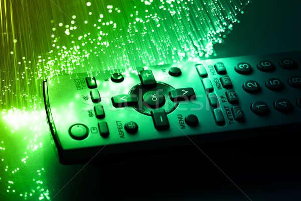 Hoog tech technologie kleur internet televisie Stockfoto © arcoss