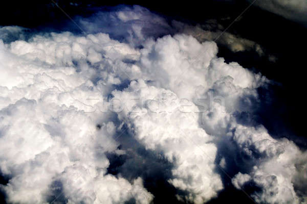 Wolken natuur regen storm donkere hemel Stockfoto © arcoss