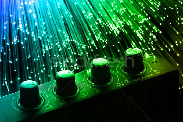 волокно оптика свет Места тело дизайна Сток-фото © arcoss