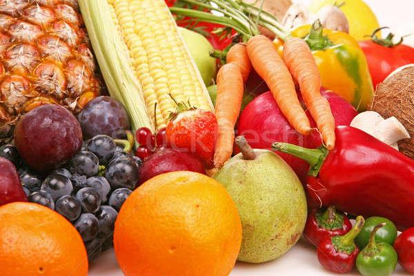 Fruits légumes nature santé été orange Photo stock © arcoss