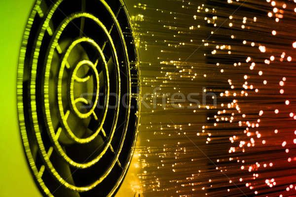Ventilator grid technologie netwerk energie macht Stockfoto © arcoss
