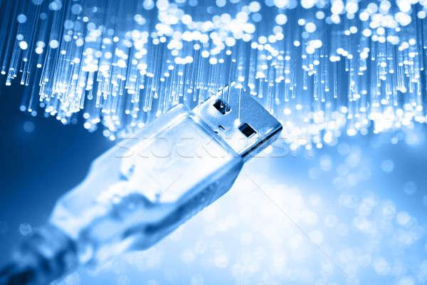 Rost optika fény foltok technológia háttér Stock fotó © arcoss