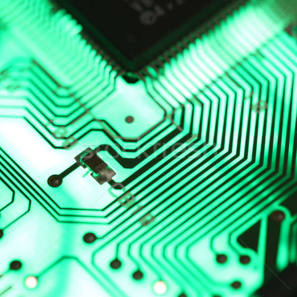 Background of electronic circuit board  Stock photo © arcoss