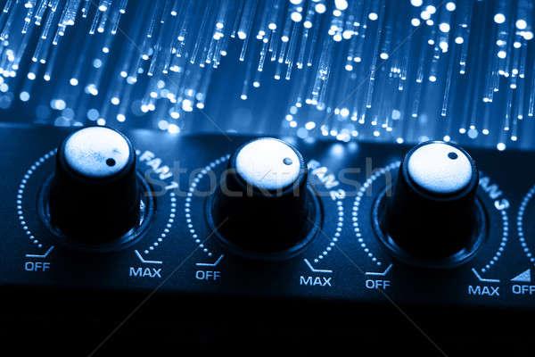 Yüksek teknoloji teknoloji renk ışık radyo Stok fotoğraf © arcoss