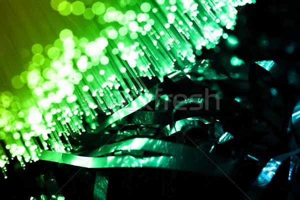 Lif optik ışık noktalar müzik teknoloji Stok fotoğraf © arcoss