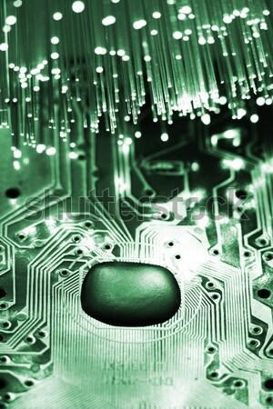 Földgömb számítógép billentyűzet technológia számítógép internet térkép Stock fotó © arcoss