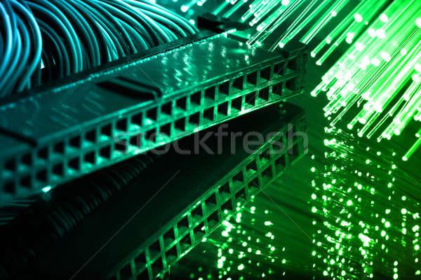 Vezel optica licht business technologie Stockfoto © arcoss