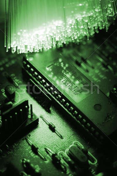 Vezel textuur abstract ontwerp achtergrond industrie Stockfoto © arcoss