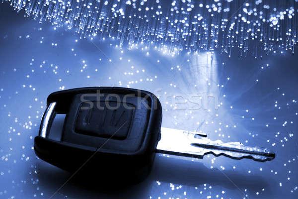 Faser optische Licht Spots home Technologie Stock foto © arcoss