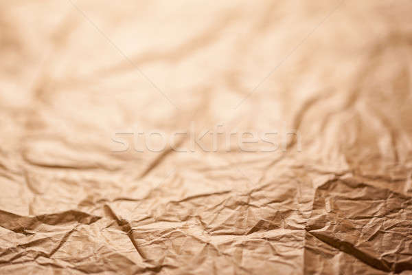 Abstract brown recycle crumpled paper for background  Stock photo © arcoss