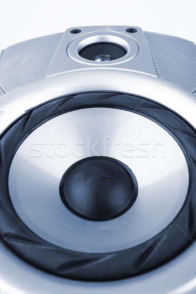 Hangszóró zene diszkó koncert erő hang Stock fotó © arcoss
