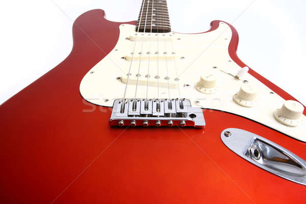 Guitar isolated on white Stock photo © arcoss