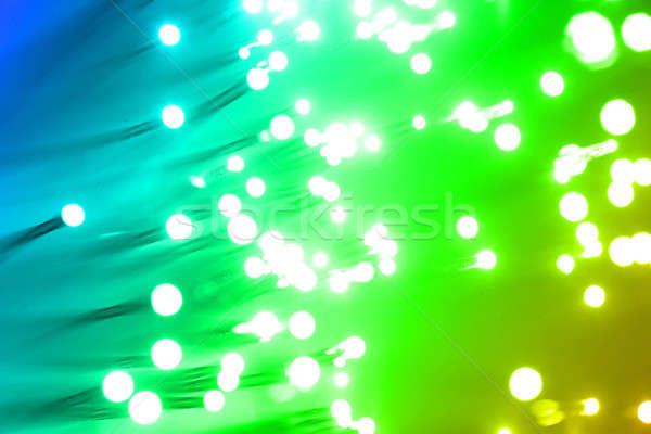 Stockfoto: Vezel · optica · licht · abstract · ontwerp