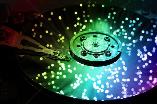 ビジネス コンピュータ 抽象的な 金属 セキュリティ ストックフォト © arcoss