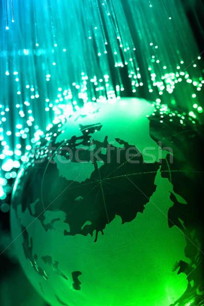 Fiber optics Stock photo © arcoss