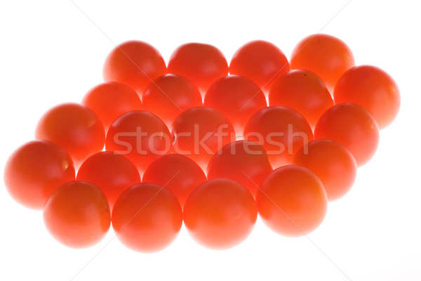 Pomidory żywności charakter zielone czerwony pomidorów Zdjęcia stock © arcoss