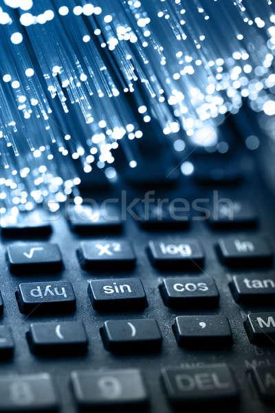 Rost optika fény foltok számítógép absztrakt Stock fotó © arcoss