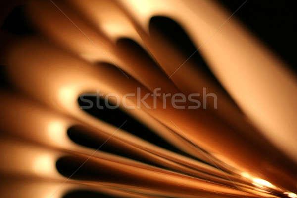 Mooie brand abstract ontwerp technologie Stockfoto © arcoss