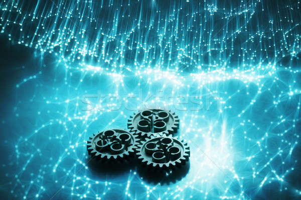 Narzędzi włókno optyka wysoki tech technologii Zdjęcia stock © arcoss