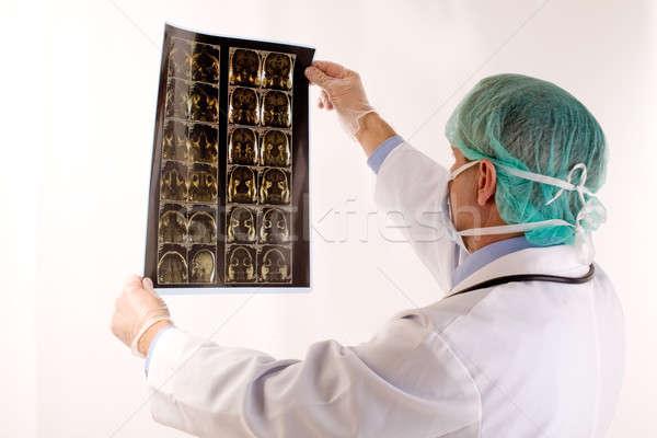 Médico médico saúde medicina trabalhador profissional Foto stock © arcoss