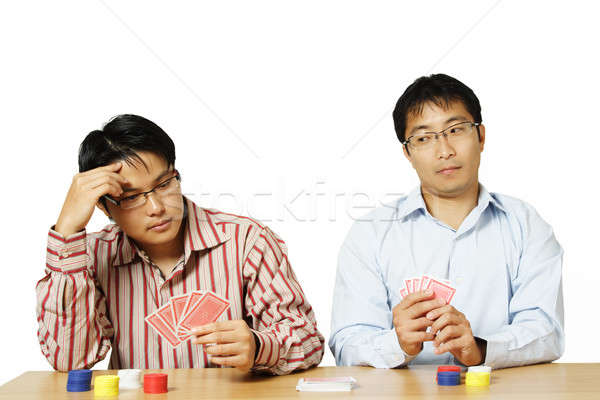 Playing poker Stock photo © aremafoto