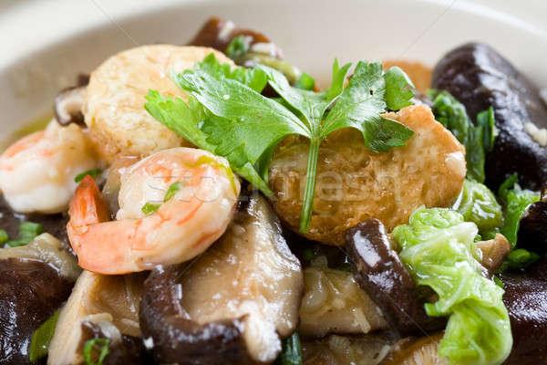 中国食品 クローズアップ ショット シーフード 伝統的な 食品 ストックフォト © aremafoto