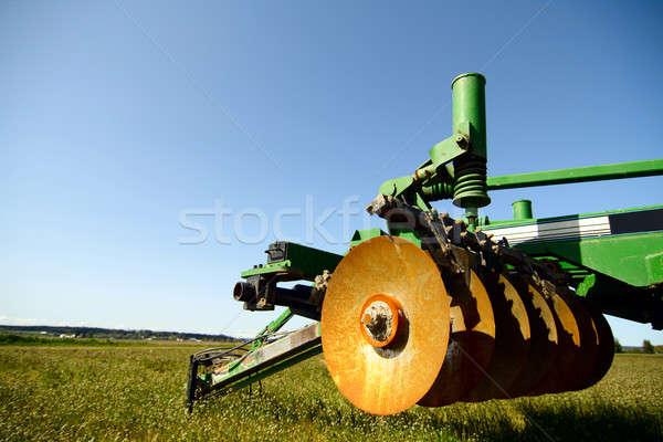 農業 機械 産業 空っぽ フィールド ストックフォト © aremafoto