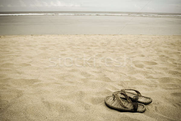 Stock photo: Beach vacation