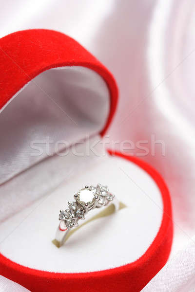 Diamond ring Stock photo © aremafoto