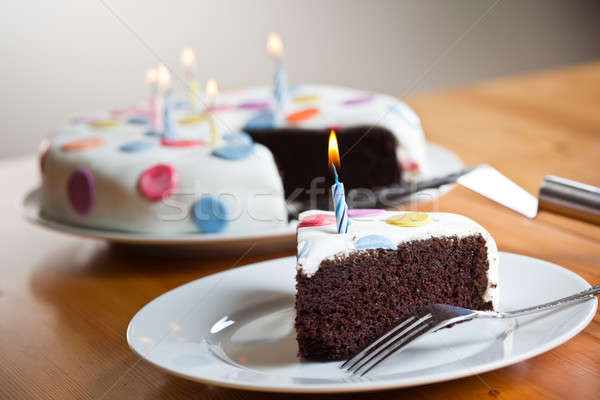 Birthday cake Stock photo © aremafoto