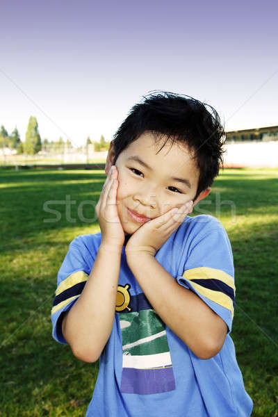 Cute boy Stock photo © aremafoto