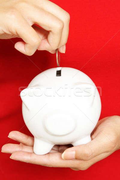 Saving money Stock photo © aremafoto