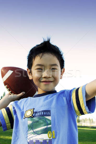 Sporty boy Stock photo © aremafoto