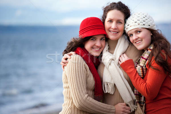 Mother and daughters Stock photo © aremafoto