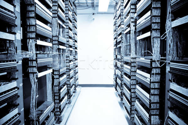 Network data center Stock photo © aremafoto