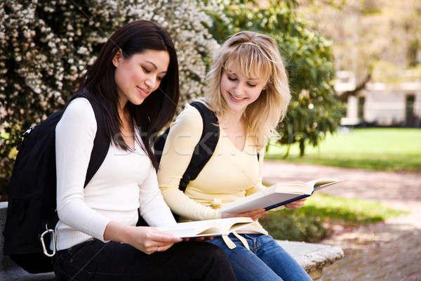 College students Stock photo © aremafoto