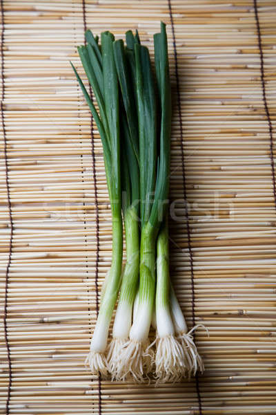 Spring onions Stock photo © aremafoto