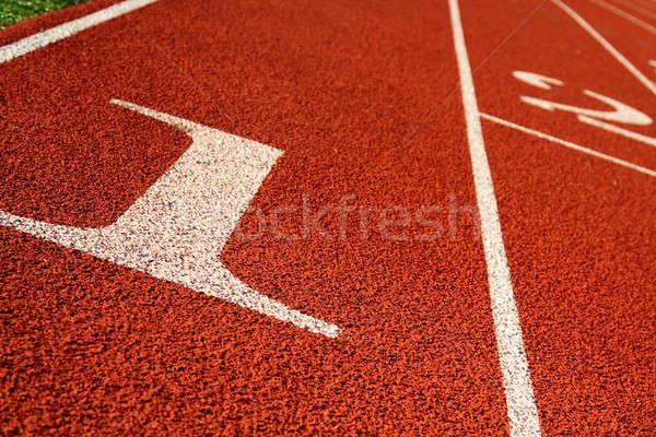 Running track Stock photo © aremafoto